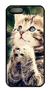 We Liked The Cat Polycarbonate Custom iPhone 5S/5 Case Cover - Black