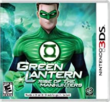 Green Lantern: Rise of the Manhunters - Nintendo 3DS