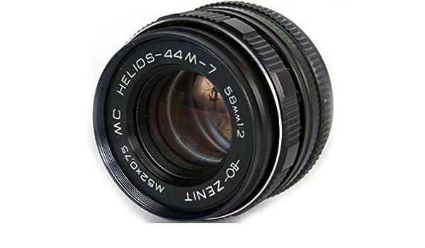 Helios 44M 58mm F2 Russian Lens for Nikon Lenses Electronics ...