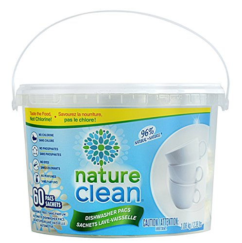 Nature Clean Automatic Dishwasher Pacs, 60 Count ()