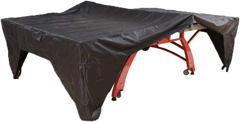 SHINYEVER Ping Pong Table Cover - Table Tennis Cover Sun Proof, Rain Proof, Dust Proof for Indoor or Outdoor (2020 Upgrade)