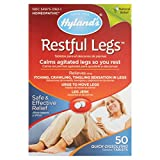 Hyland's Restful Legs Tablets 50 ea (Pack Of 4)