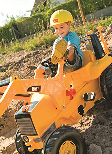 rolly toys CAT Construction Pedal Tractor: Backhoe Loader