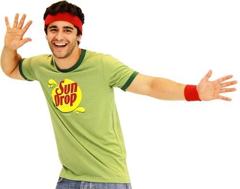 amazoncom sun drop citrus soda green costume mens t shirt clothing - Sundrop Halloween Costume