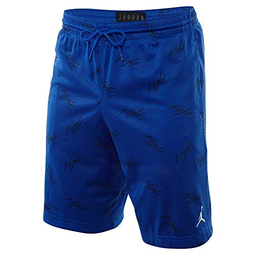 Jordan Sportswear Jumpman Flight Short Mens Style : AJ0444-405 Size : XL Royal Blue/Black