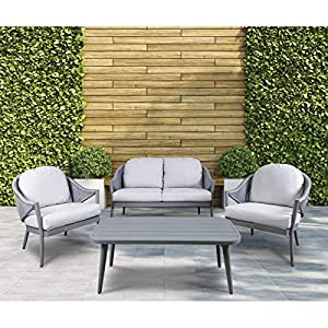 Dellonda-Echo-4-Piece-Aluminium-Outdoor-Sofa-Set