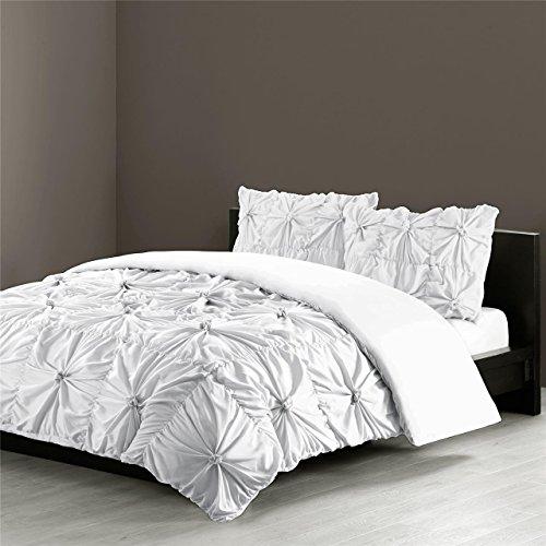 N Natori NS10-2403 Jolee Comforter Mini Set King White,King
