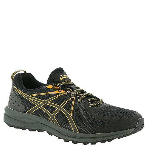 (ASICS 1011A034 Men's Frequent Trail Running Shoe, Black/Black - 11.5 D(M) US )