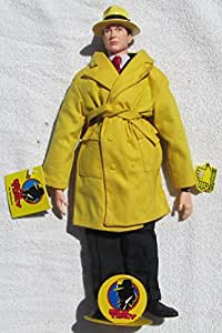 "Disney Applause 14"" Dick Tracy Warren Beatty Collector's Cloth Doll (1990)"