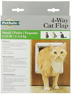 PetSafe Four-Way Locking Cat Door, White