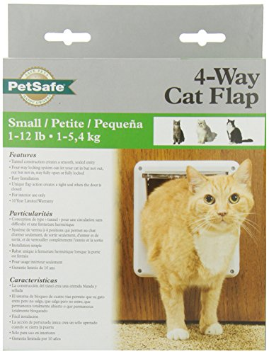 PetSafe Four Way Cat Flap, White