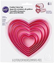 Conjunto de cortadores de coração Wilton