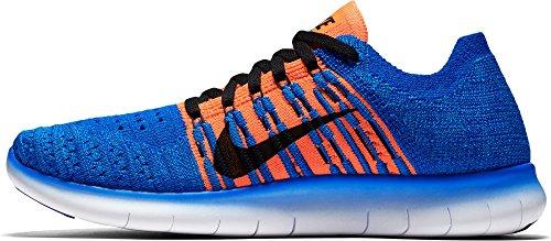 Nike Herre Fri Rn Flyknit (gs) LaufSko Azul (racer Blå / Sort-total Blodrød) lJ0uZy2g