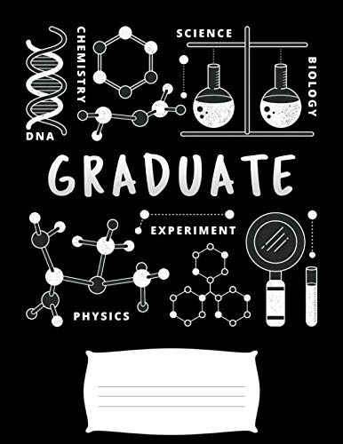 graduate: Funny nailed it science experiment biology phisics and chemistry college ruled composition notebook for graduation / back to school 8.5x11]()