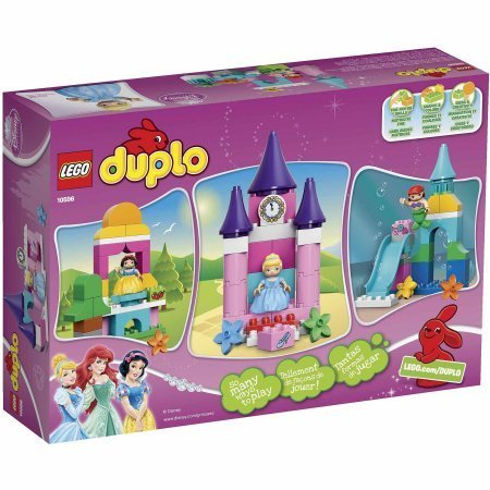 LEGO DUPLO Princess Disney Princess Collection 10596 / Features easy-to-build models of Cinderella's castle, Ariel's undersea world with waterslide and Snow White's cottage and apple tree