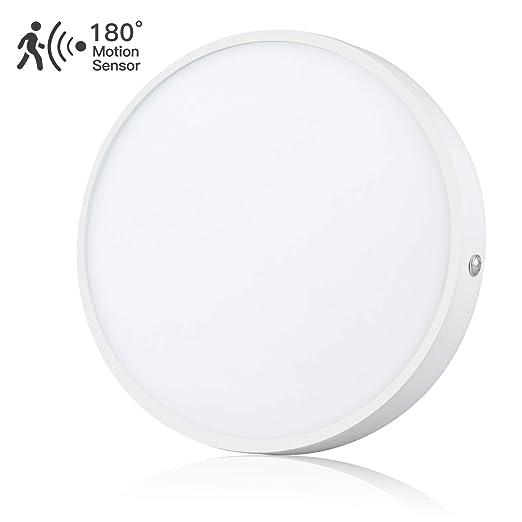 20W Downlight LED Plafón con Sensor de Movimiento Lámpara de pared ...