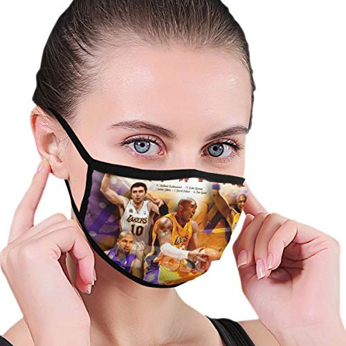 Dean Carnegie Ko_be Bry_ant Face Mask Adjustable Mouth Mask Anti Dust Face Mouth Mask Reusable Mask for Cycling Camping Travel