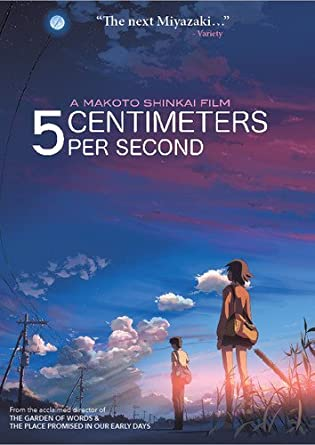 Image Unavailable Image Not Available For Color 5 Centimeters Per Second