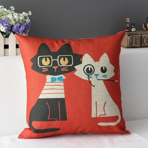 Cotton Linen Pillow Cushion Decorative