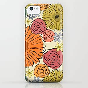 Society6 - Country Flowers iPhone & iPod Case by Silvianna