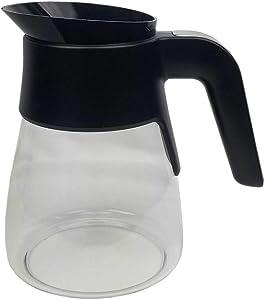50 Oz. XGLSLID300 Coffee Bar Glass Carafe Without Lid for Ninja XGLSLID300 CF090 CF090A CF090C CF090CO CF091 CF091C CF092 CF092C CF092W CM400 CM400C CM401 CM401A CM401C CP301 CP301A