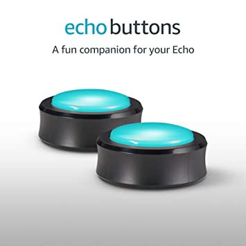 Image result for Echo Buttons (2 buttons per pack) - A fun companion for your Echo images