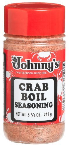 Johnny's Crab Boil Seasoning, 8.5-Ounce Bottles (Pack of 6)