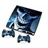 MODFREAKZ™ PS3 Console and Controller Vinyl Skin Decal Smiling Skeleton