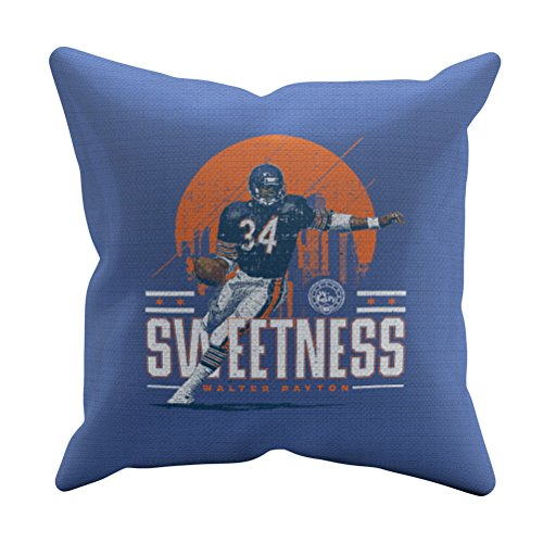 - 500 LEVEL Walter Payton Chicago Football Throw Pillow - 18