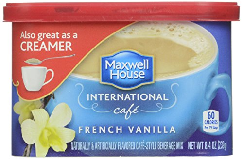 Maxwell House International Coffee French Vanilla Cafe, 8.4 Ounce
