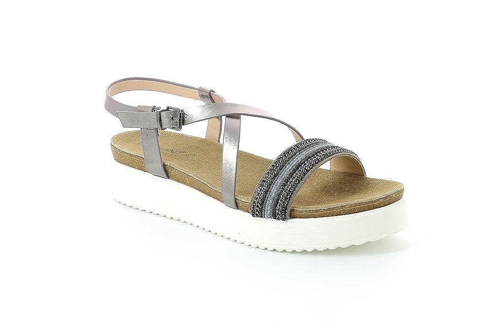 GRUNLAND SB1639 Mete Sandalo Donna S.Canna Di Fucile