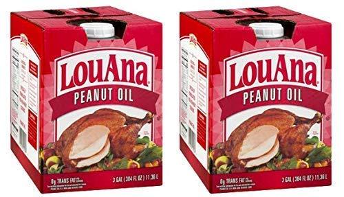 LouAna Peanut Oil, 3 Gallon (Pack of 2) by LouAna