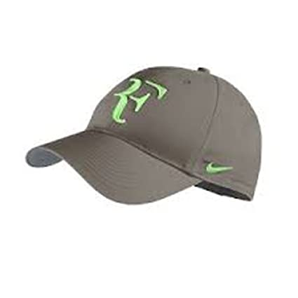 Image Unavailable. Image not available for. Color  Nike RF Federer Dri Fit  Hat 2013 Olive Khaki Poison Green b9b7c1d4f84