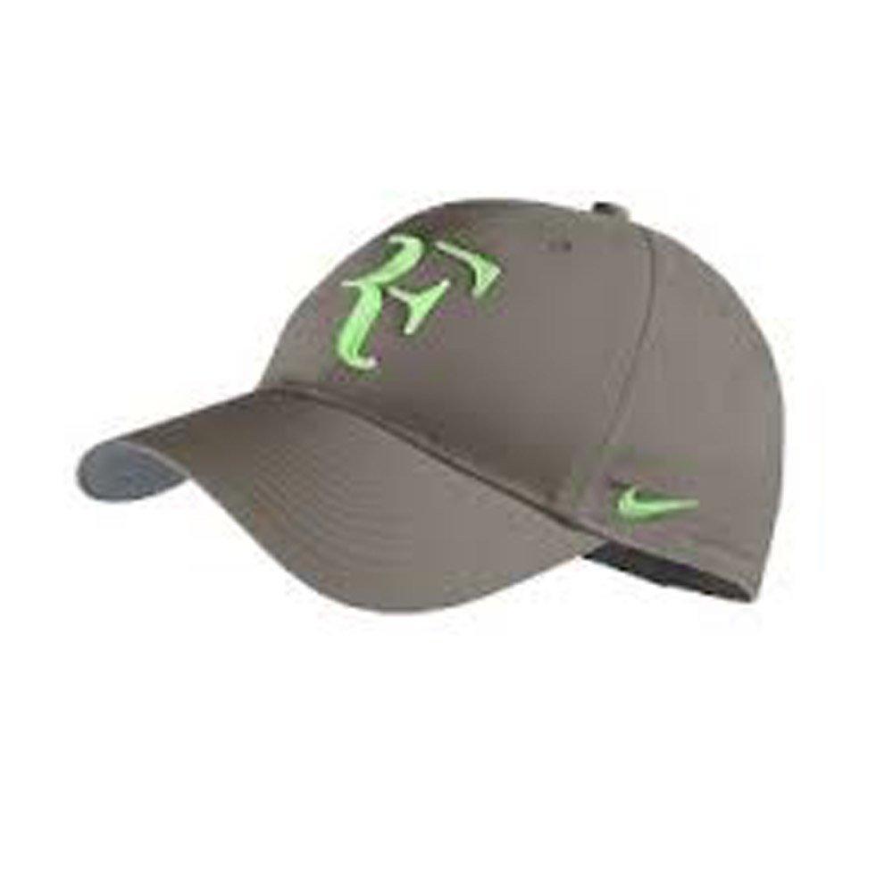 bd83df44728e14 ... usa amazon nike rf federer dri fit hat 2013 olive khaki poison green  sports fan baseball