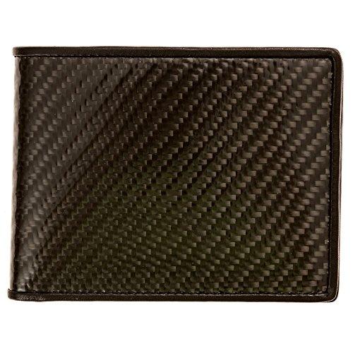 carbon fiber bifold wallet - 2