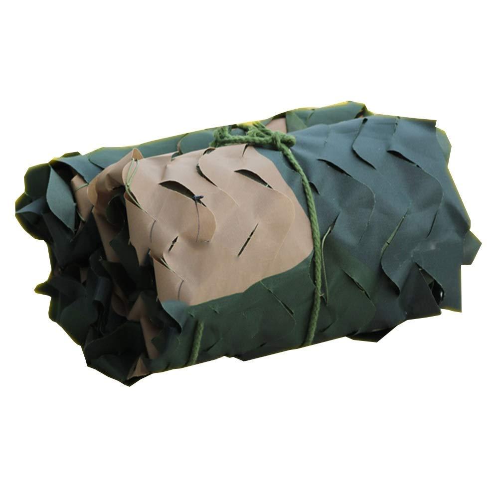 vert 2x8m GGYMEI Filet De Camouflage Baisser La Température Anti-UV Matériau Oxford En Filet De Prougeection Vert Montagne, 34 Tailles, Support Personnalisation (Couleur   vert, Taille   3x6m)