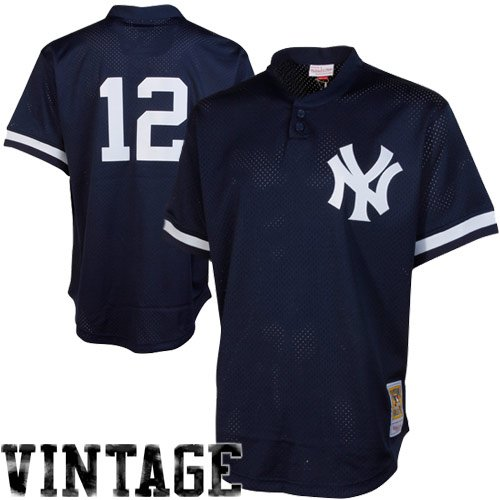 Navy Authentic Mlb Jersey - MLB Mitchell & Ness Wade Boggs New York Yankees 1995 Authentic Cooperstown Collection Mesh Batting Practice Jersey - Navy Blue (XXXX-Large)
