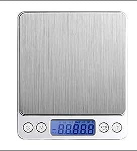 Digital Pocket Scale, Stainless Steel-Backlit Display-0.01oz Resolution