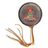 Green Tara Mirror with Tassel by Feng Shui Import