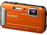 Panasonic DMC-TS25 Waterproof Digital Camera with 2.7-Inch LCD (Orange) DMC-TS25D (Certified Refurbished)