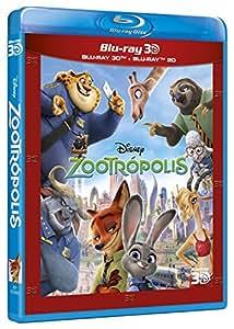 Zootrópolis (BD + BD 3D) [Blu-ray]
