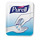 PURELL Advanced Hand Sanitizer Singles - Travel Size Single Use Individual Portable Packets, 125 count Self Dispensing Packets in a Display Box - 9620-12-125EC