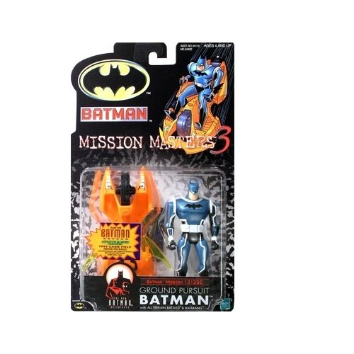 Batman: The New Batman Adventures Mission Masters 3 Ground Pursuit Batman Action Figure
