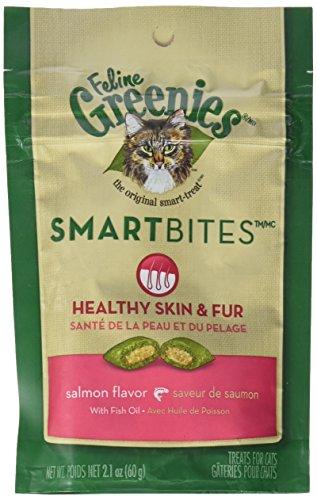 Greenies Feline SMARTBITES Salmon 2 1oz