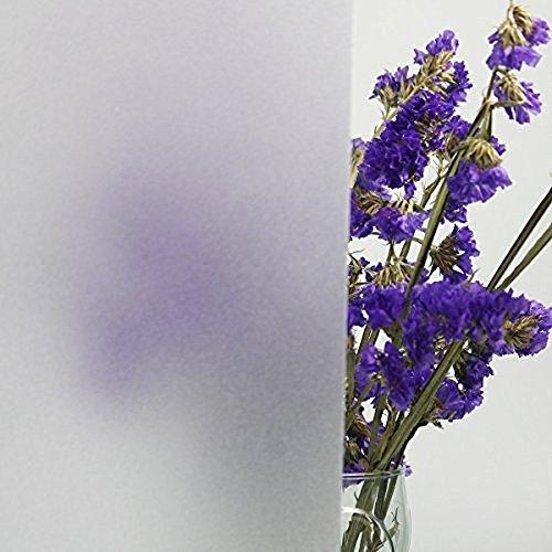 Lifetree 005 Selbstklebend ohne Klebstoff Fensterfolie 2D Statisch Folie Sichtschutzfolie 45*200CM