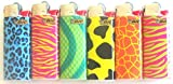 Bic Mini Animal Print Series Lot of 6