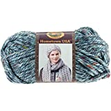 Lion Brand Yarn 135-308 Hometown Yarn, Key Largo Tweed (1 skein): more info