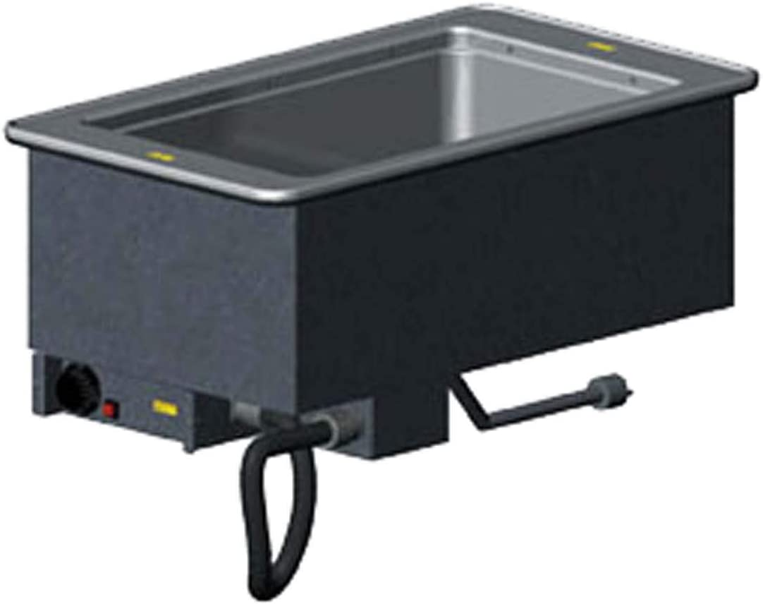 """B00MWGBDOM Vollrath 36471 Electric Drop-In Hot Food Well with (1) 12""""x20"""" Stainless Steel Insulated Well (15""""W x 26""""D x 15""""H O.A.) 625 Watts 240V/60/1Ph 51xl2B7tmoxL.SL1500_"""