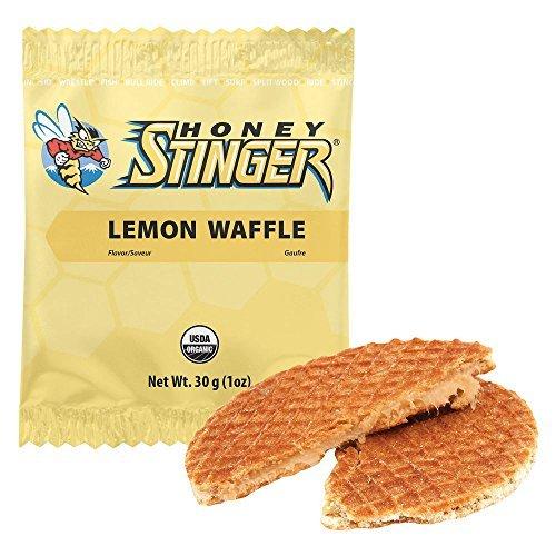 Honey Stinger Waffle Pack, Lemon, 1 ounce by Honey Stinger