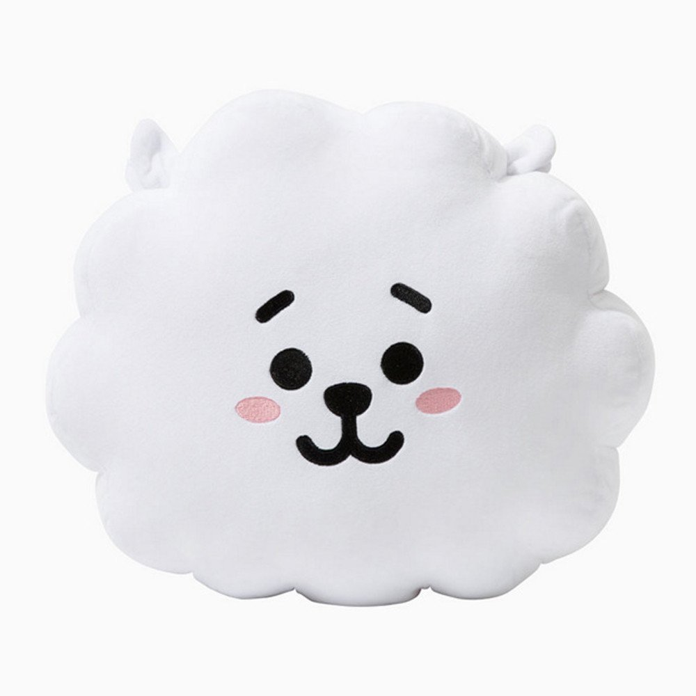 E-SCENERY 2018 New Cute Cartoon Doll, BTS BT21 Bangtan Boys Throw Pillow Perfect for Sofa Home Decor, Nice Gift 11.8''15.7'' (Alpaca)